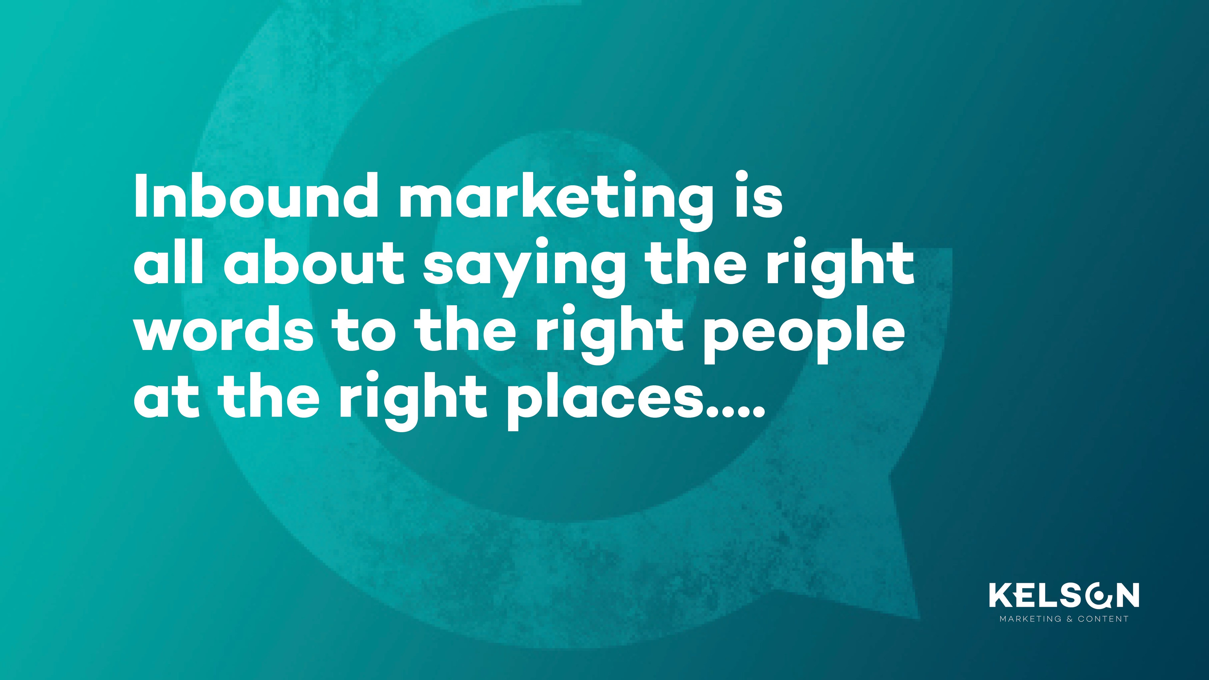 Inbound marketing definitie
